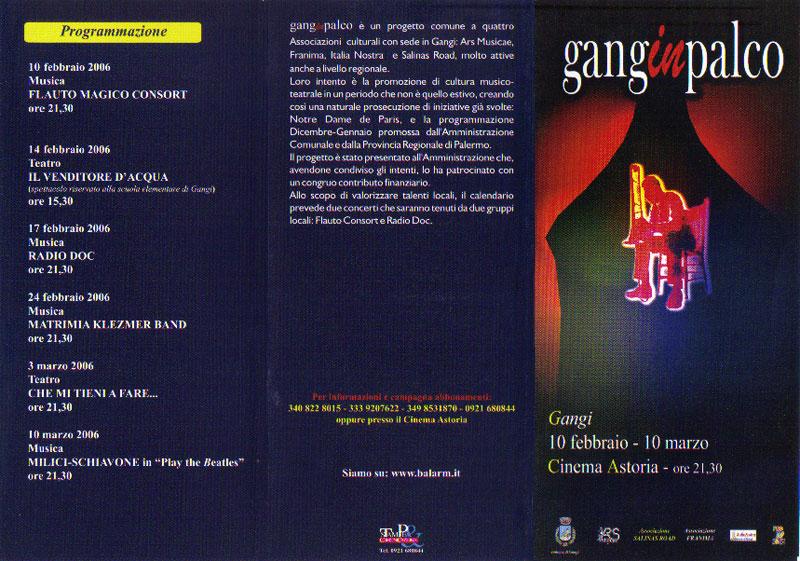 Brochure rassegna Ganginpalco